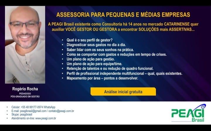 postagem de vendas - ROGERIO ROCHA - PEAGI BRASIL